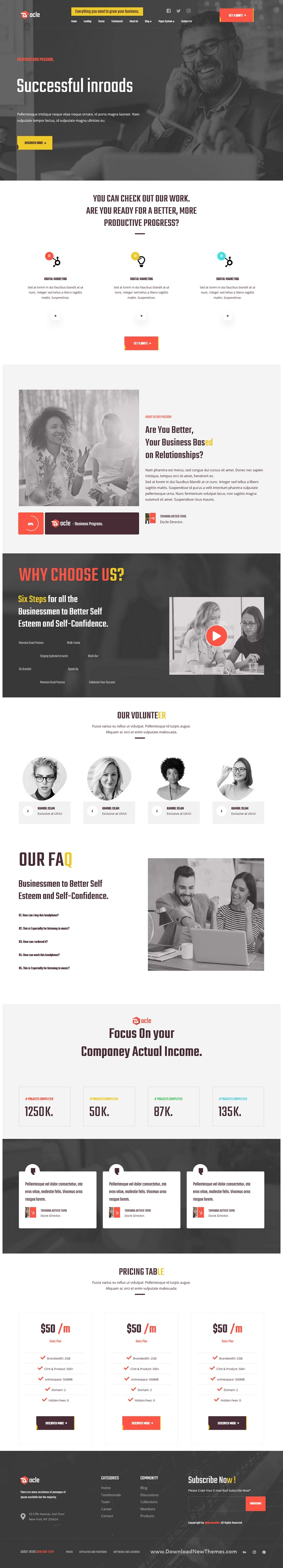 Agency Services HubSpot Theme