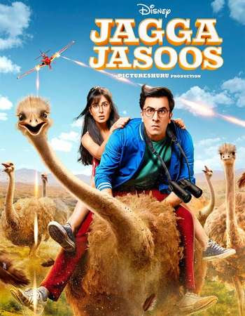Watch Online Jagga Jasoos 2017 Full Movie Download HD Small Size 720P 700MB HEVC DVDRip Via Resumable One Click Single Direct Links High Speed At WorldFree4u.Com