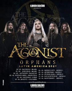 "THE AGONIST ""TOUR ORPHANS Latinoamerica 2021"""