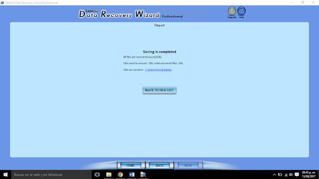 rescatar archivos de una USB