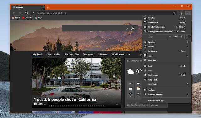 Bug yang Menyebabkan Microsoft Edge Windows Menjadi Hitam