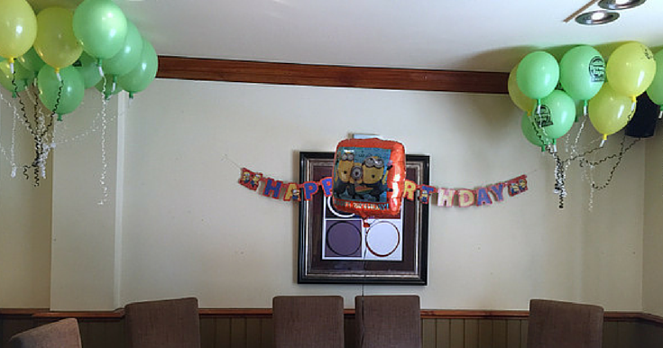 Rambling Through Parenthood A Brewers Fayre Birthday Party