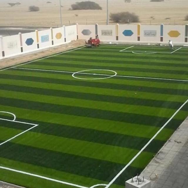 شركة إنشاء ملاعب عشب صناعي بالقاهرة