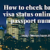 How to check bahrain visa status online with passport no, full guide hindi me
