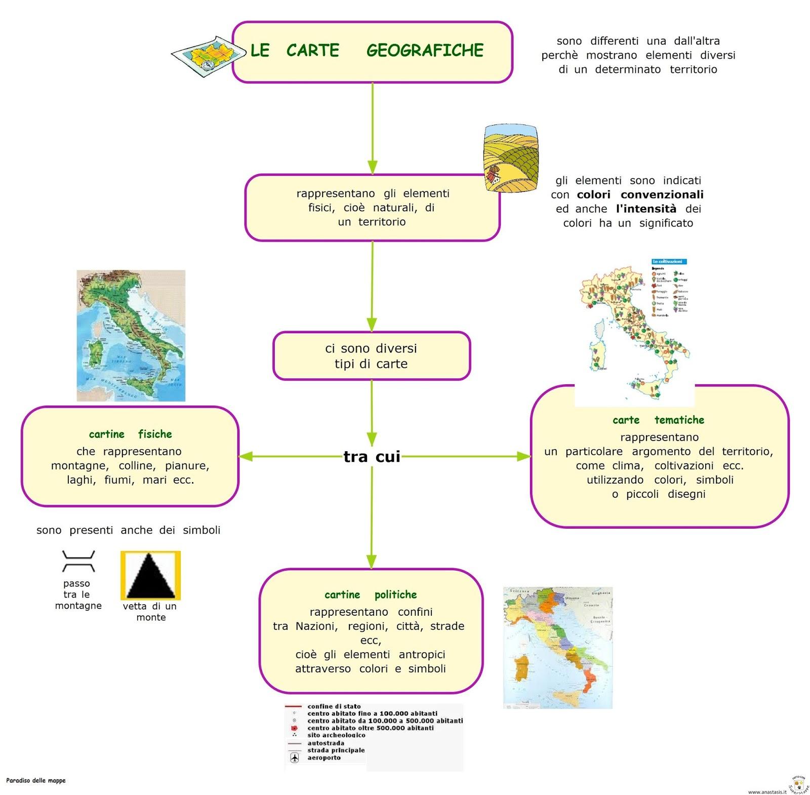 Paradiso Delle Mappe Le Carte Geografiche