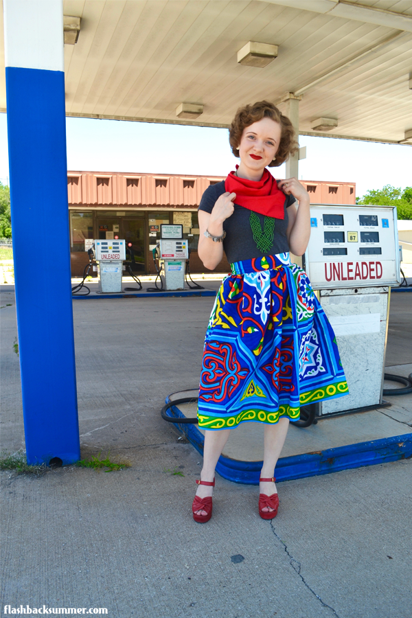 Flashback Summer: Egyptian Ramadan Fabric Skirt