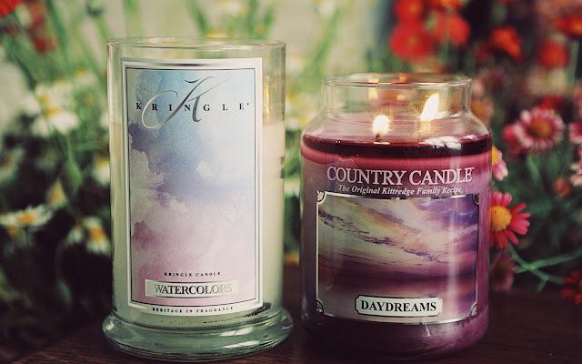 Watercolors Kringle Candle kontra Daydreams Country Candle - porównanie & recenzja - Czytaj więcej »