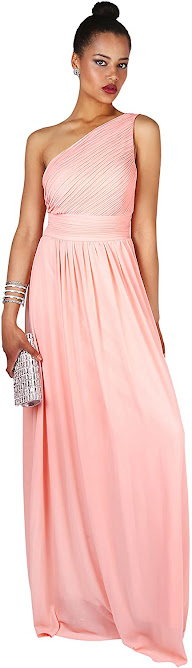 Good Quality One Shoulder Chiffon Bridesmaid Dresses
