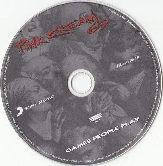 PINK CREAM 69 - Games People Play {2017 Reissue} disc
