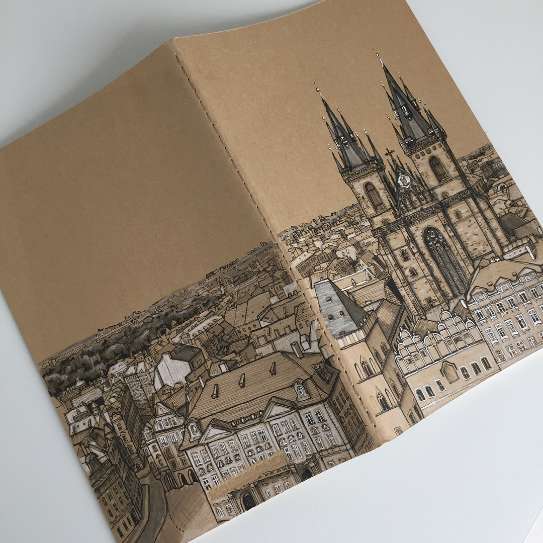 10-Prague-Phoebe-Atkey-Urban-Sketcher-Architectural-Building-Drawings-www-designstack-co