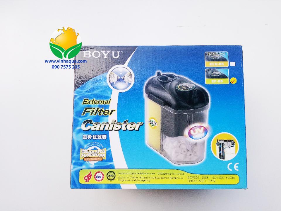 Lọc Boyu EF05 5W 150L/H