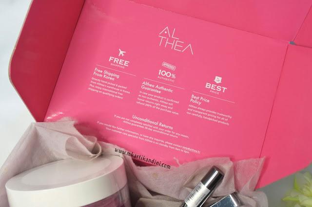 Pengalaman Belanja Make Up Skin Care Korea di Althea