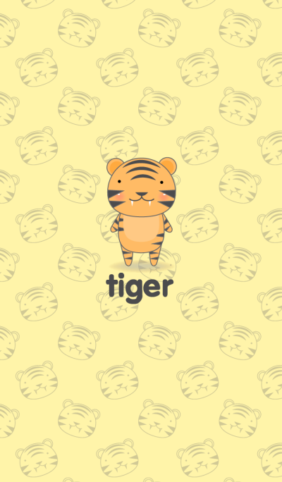 Simple cute tigert theme