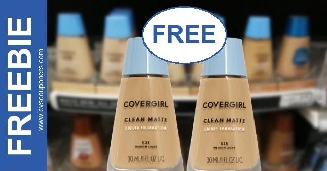 FREE CoverGirl Foundation CVS Deals 6/13-6/19