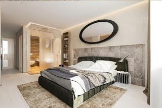 moderna elegante habitación