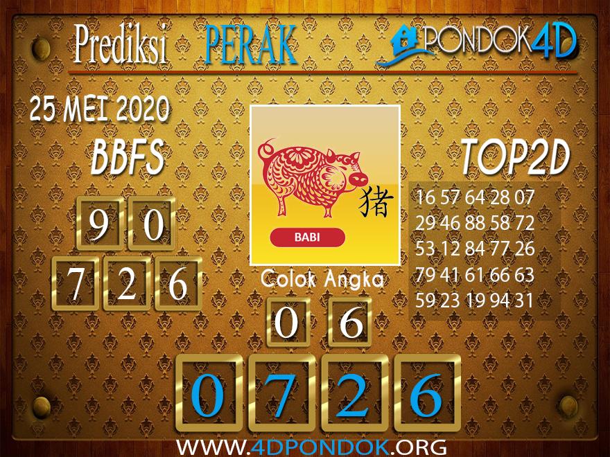 Prediksi Togel PERAK PONDOK4D 25 MEI 2020