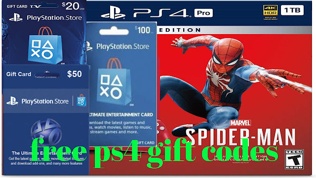 HOW TO GET FREE PS4 CODES | FREE PSN GIFT CARDS 2019 - Free