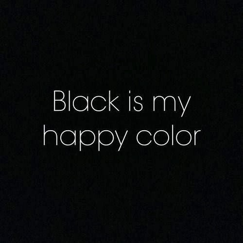 97b3f4225d9 chat over a cup of coffee: Black is such a happy color or back to black