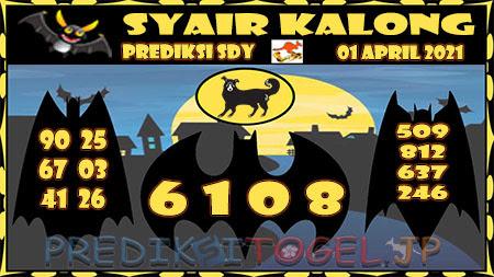 Prediksi Kalong Sydney Kamis 01-Apr-2021