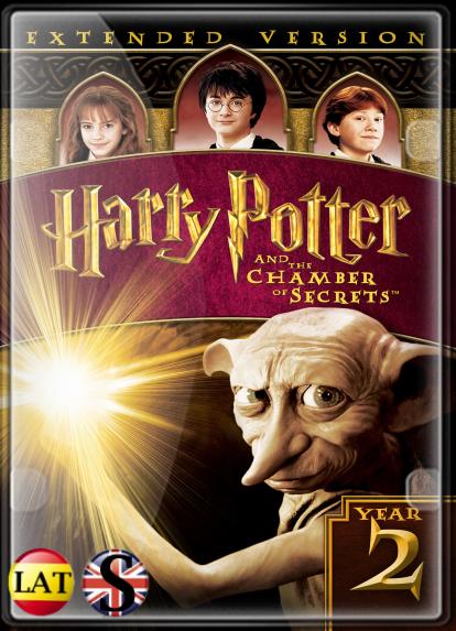 Harry Potter y la Cámara Secreta (2002) Extended HD 1080P LATINO/INGLES
