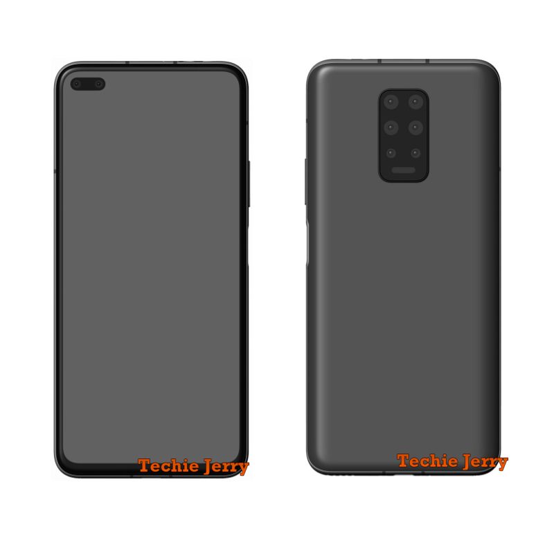 Is a Huawei phone with a total of 8 cameras in the works?