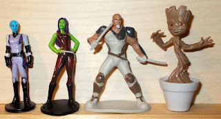 Drax; Ent; Galaxy Guardians; Gamora; GotG; Groot; Korath the Pursuer; Marvel; Marvel Characters; Marvel Comics; Marvel Guardians of the Galaxy; Mini Groot; My Busy Books; My First Toy Figure; Nebula; Phidal Book; Phidal Guardians of the Galaxy; Phidal Publishing; Rocket Racoon; Ronan the Accuser; Small Scale World; smallscaleworld.blogspot.com; Star Lord; Thanos; The Collector; Yandu;