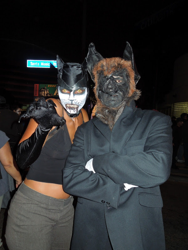 WEHO Halloween Carnaval night creatures