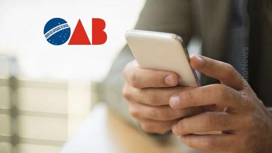 oab critica restricao bloqueio redes sociais