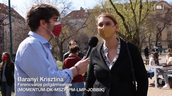Baranyi Krisztina csalódott, mert ledöntötték a BLM-szobrot