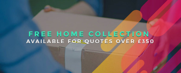 Free home collection of trade-in items valued over £350