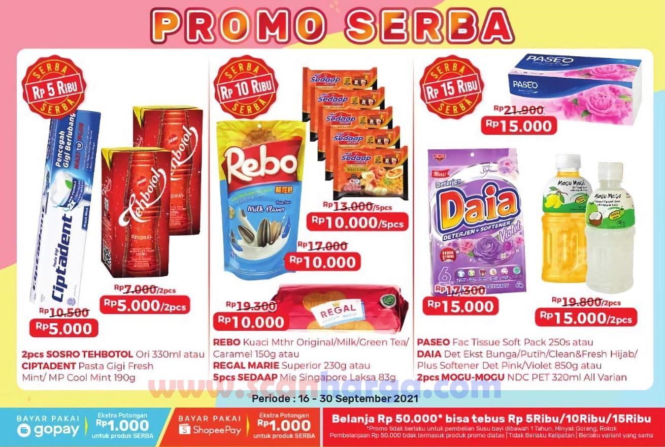 Promo Alfamart SERBA Terbaru 16 - 30 September 2021