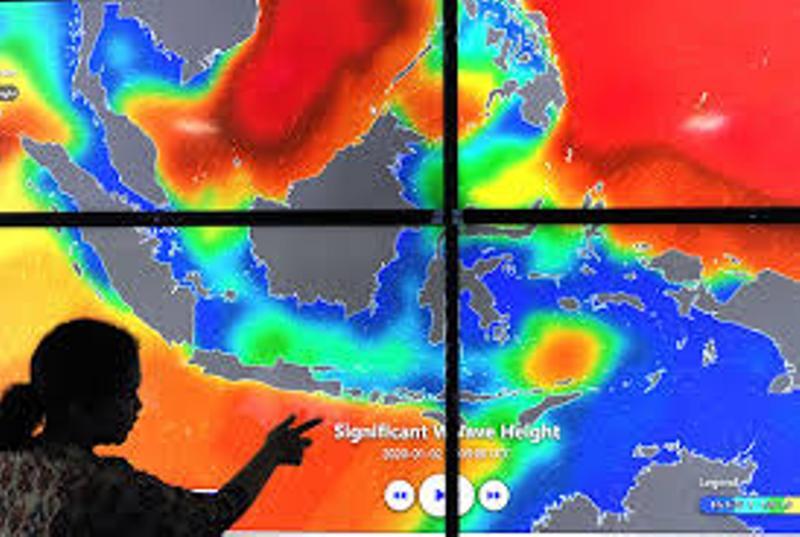 BMKG Deteksi Siklon Tropis 'Mangga' di Samudera Hindia, Masyarakat di Sekitar Diimbau Waspada