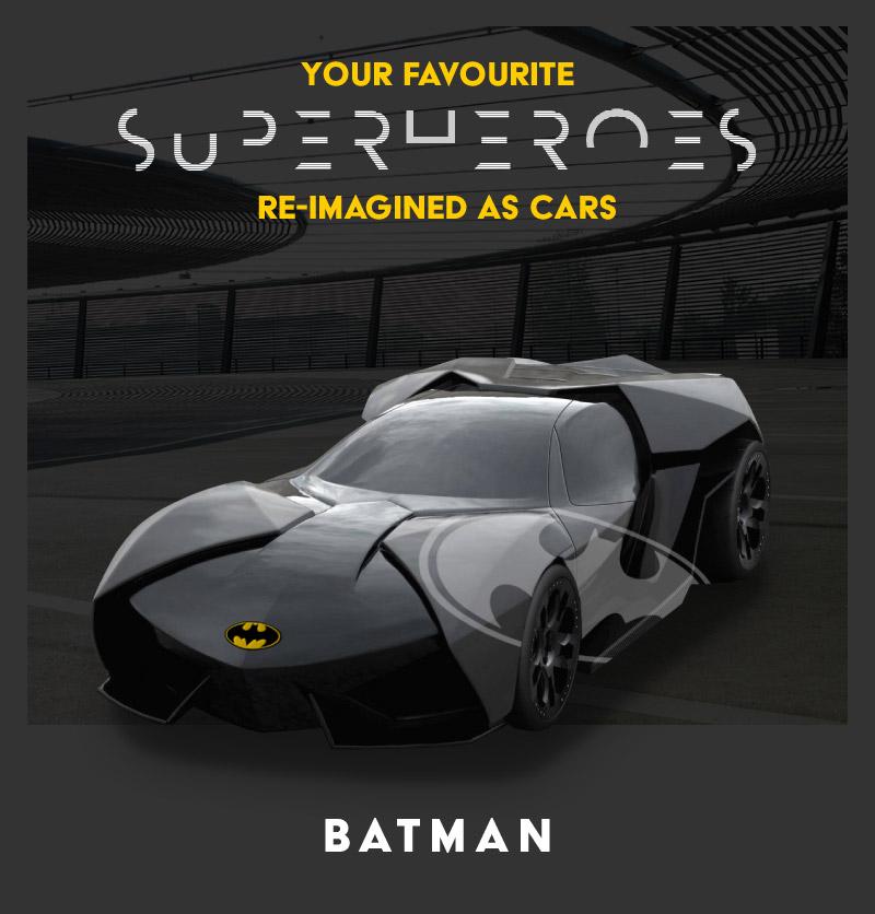 Batman - Lamborghini Anoknian