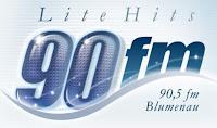Rádio 90 FM Lite Hits de Blumenau SC