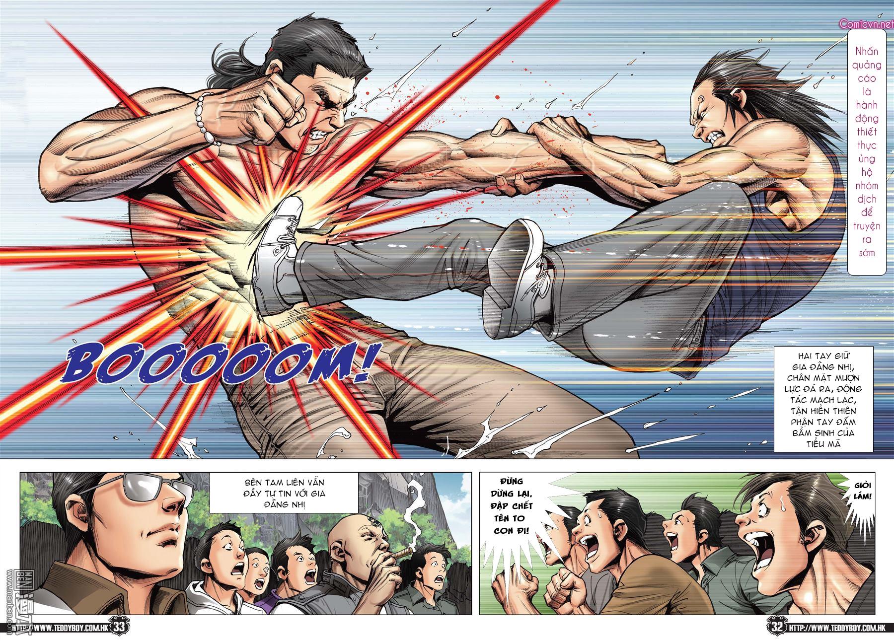 Người Trong Giang Hồ chapter 2148: tiểu mã vs gia đằng nhị trang 28