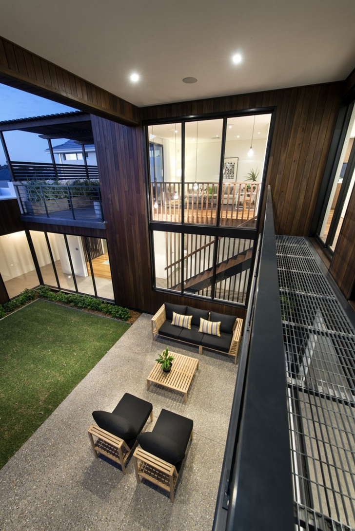 Terrace of The Warehaus by Residential Attitudes from balcony