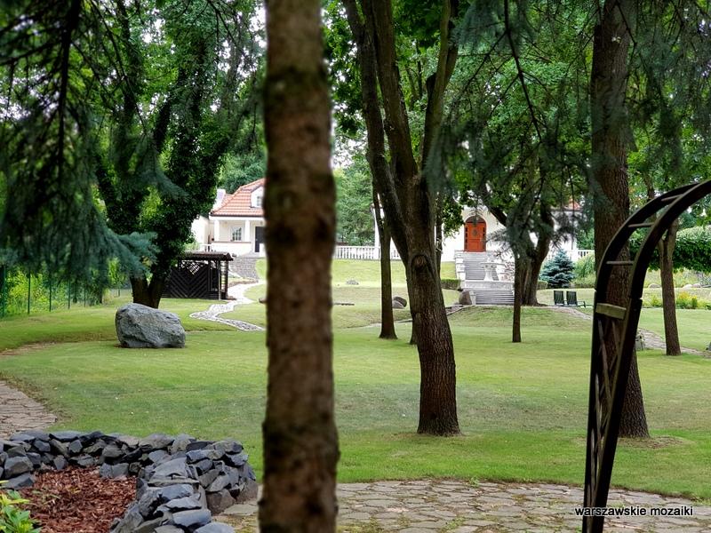 Warszawa Warsaw Młociny miasto ogród willa bruk ulica bielany ogród