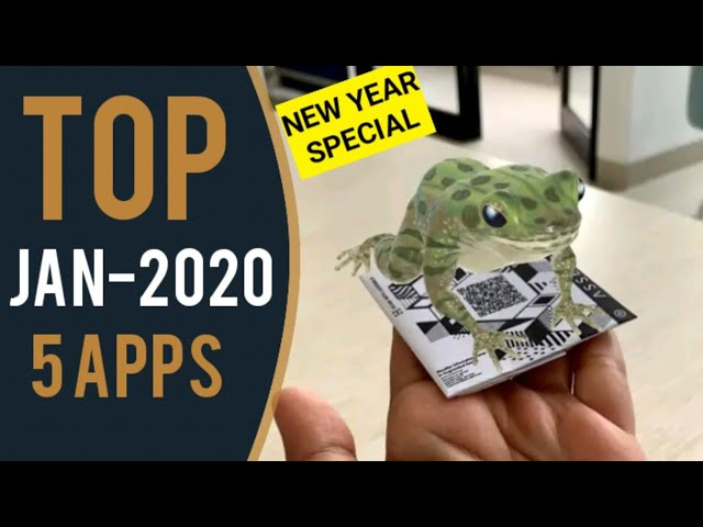 Best Android Apps 2020 | New Year Applications - Top 5 Apps | JAN - 2020 Apps |