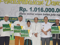 Baznas Kota Bekasi Salurkan Zakat Senilai Rp 1,2 Miliar