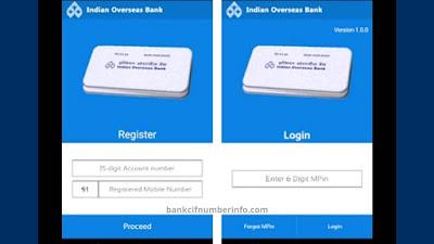 IOB Statement Download using mPassbook
