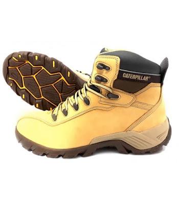 Sepatu Safety Caterpillar Nitrogen CT Honey original