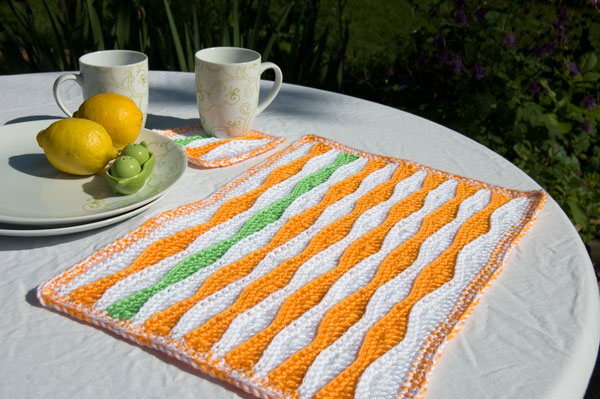 Miss Julias Patterns: Free Patterns - 20 Placemats, Coasters & Napki...