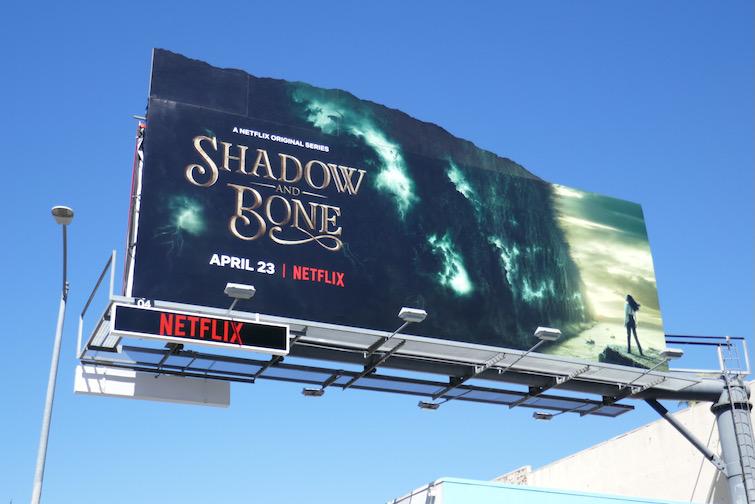 Shadow and Bone Netflix series billboard