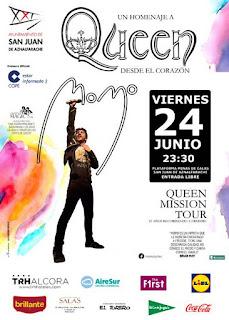 Homenaje a Queen - San Juan de Aznalfarache 2016