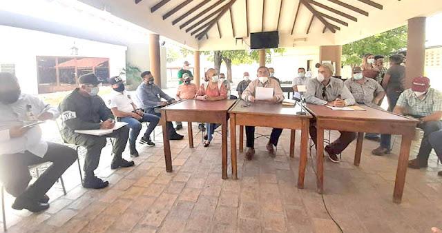 PIDEN CONTUNDENCIA A LAS AUTORIDADES ANTE INVASIONES EN LA PARROQUIA EL BLANCO