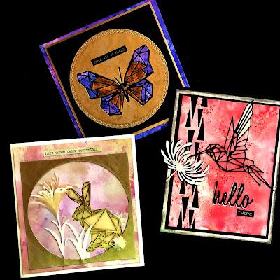 Sara Emily Barker https://sarascloset1.blogspot.com/2019/01/tim-holtz-geo-springtime-and-more.html Tim Holtz Geo Springtime Cards Tutorial  1