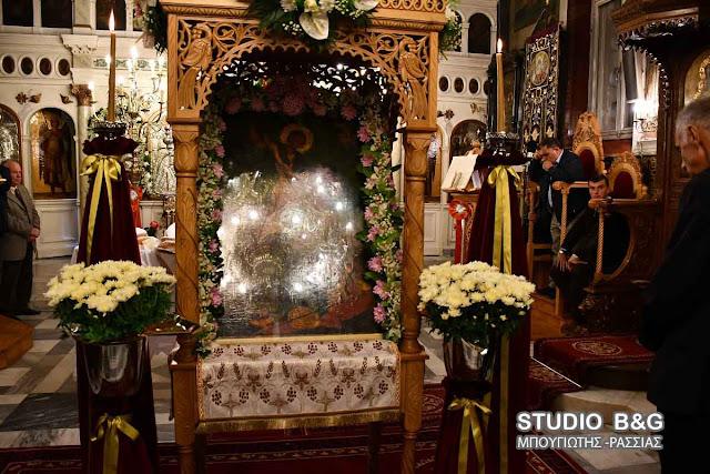 Τον Άγιο Δημήτριο τίμησαν στην Ασίνη