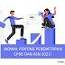 Jadwal Penting Pendaftaran CPNS dan PPPK 2021
