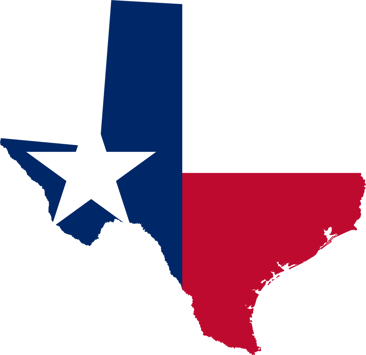 clipart map of texas - photo #33