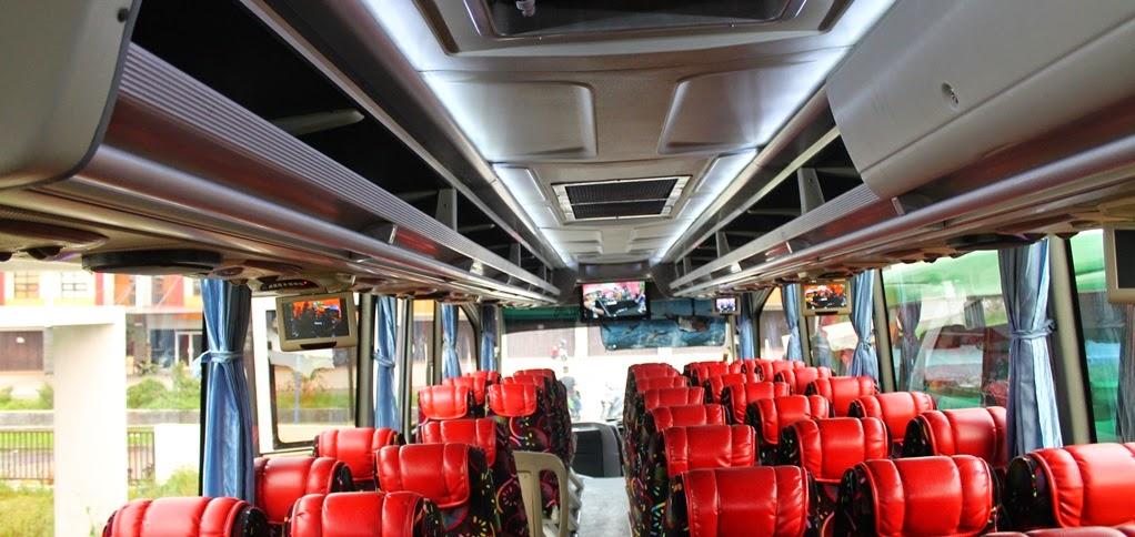 Melayani reservasi sewa bus pariwisata 47 & 59 seat